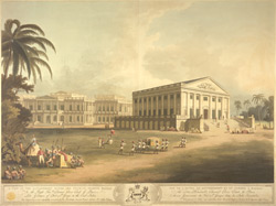 A View of the Government House and Council Chamber, Madras